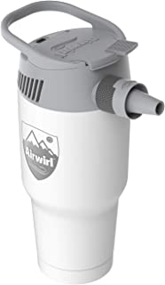 AIRWIRL Personal Cooling & Heating System- Portable Aircon- with Air Tube (White Snow)