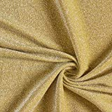 Fabulous Fabrics Jersey senf, Uni, 160cm breit – zum