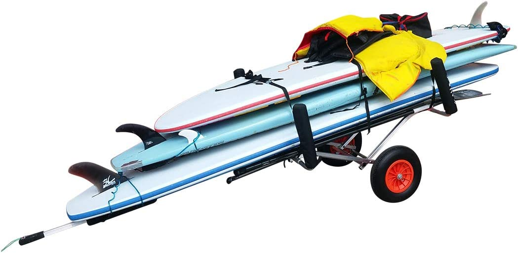 Nevgear Stand up Paddle Board Carrier 2021 model Cart Transport High quality Trailer.