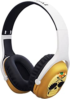 Foldable Over Ear Wireless Bluetooth Headphone with Soft Earmuffs Lightweight Low Power Consumption Strong Bass Compatibility for Cell Phones Tablets Laptop TV,etc Also Wired(Daney)