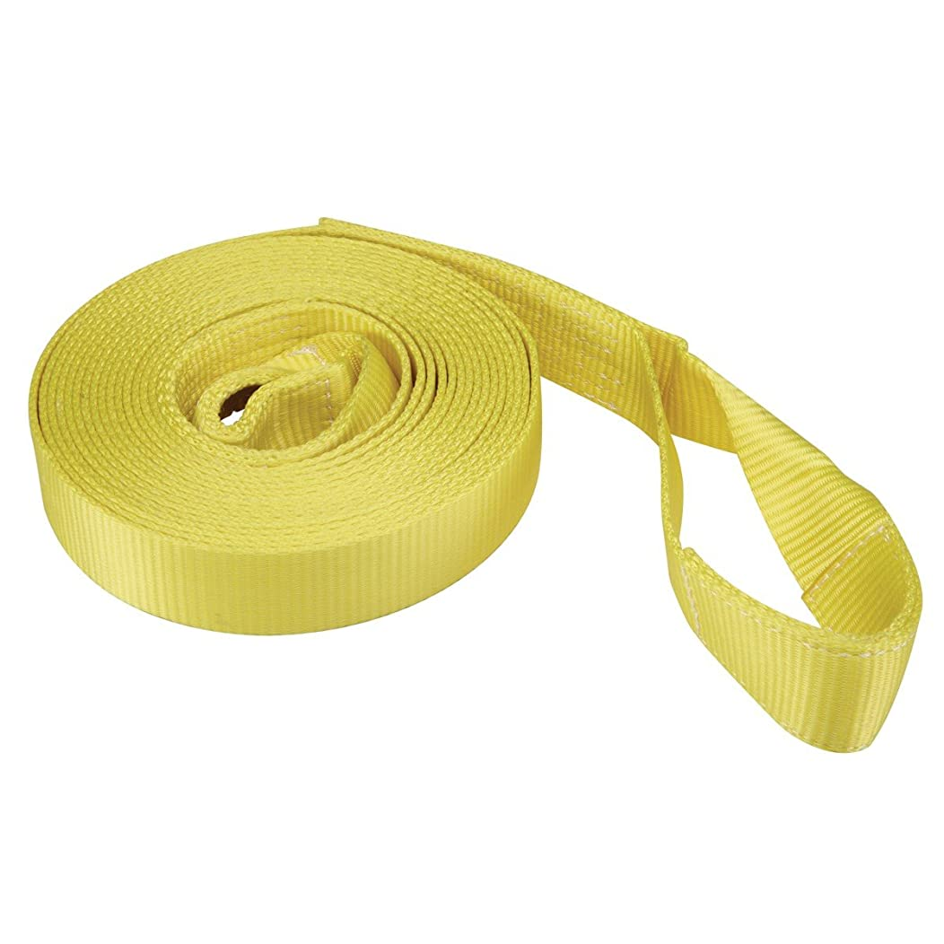 2 in. x 30 ft. Heavy Duty Recovery Strap 6000 lbs. Working Load; Breaking Strength 18,000 lbs; UV and Weather Resistant