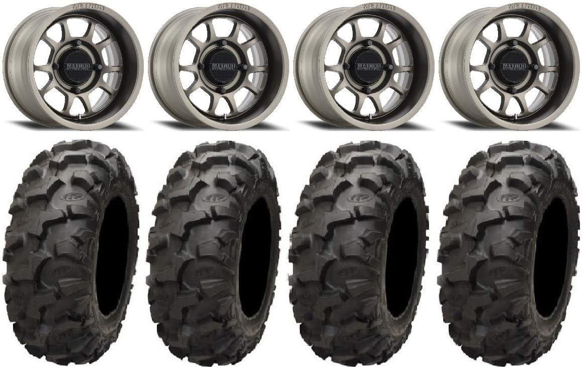 Bundle - 9 Items: Method 409 Wheels Chicago Mall Award-winning store 4+3 Blackwate 15