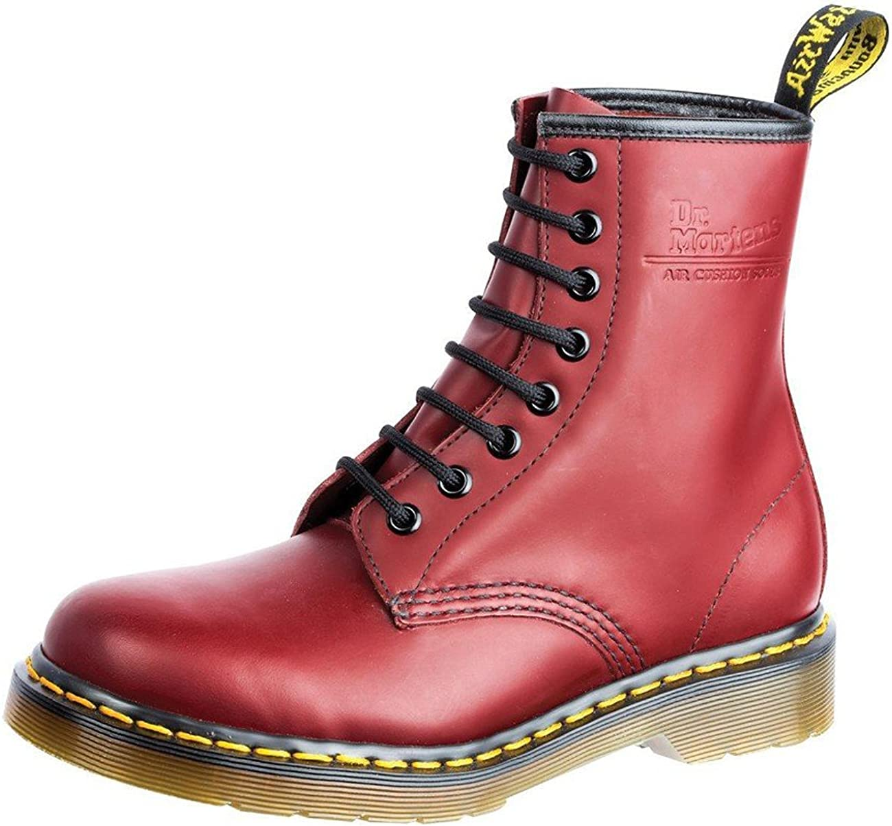 Green Smooth Martens 1460 Original 8-Eye Leather Boot for Men and Women Dr 10 US Women//9 US Men