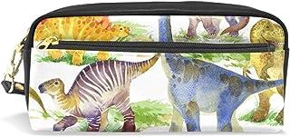 AOMOKI ペンケース ペンポーチ かわいい おしゃれ 化粧ポーチ 小物入り 多機能バッグ 男女兼用 プレゼント ギフト 恐竜 ドラゴン アニマル カラフル