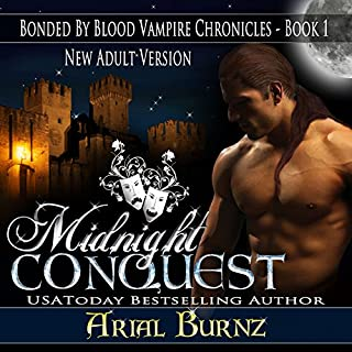 Midnight Conquest audiobook cover art