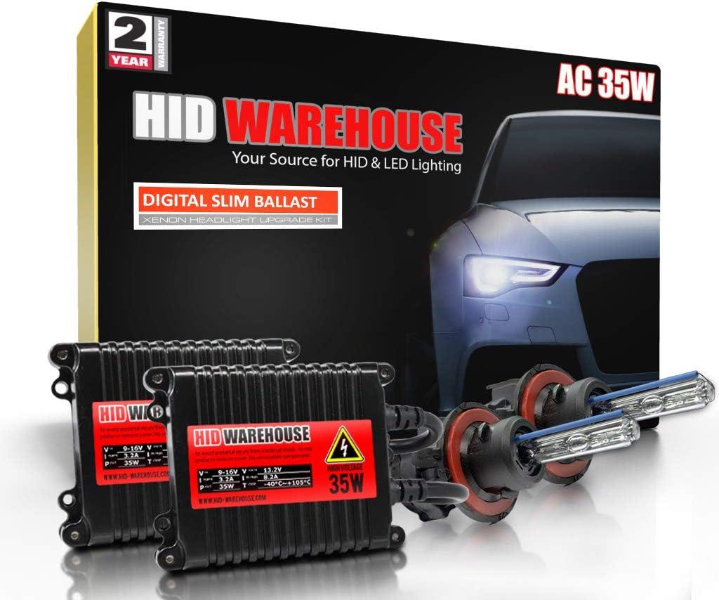 HID-Warehouse 35W AC Xenon Max 63% OFF Bundle with 5000K H13 Bi-Xenon 9008 Max 74% OFF