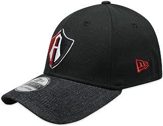 New Era 39Thirty Hat Guadalajara Club Atlas Soccer Liga MX Black Denim Flex Cap
