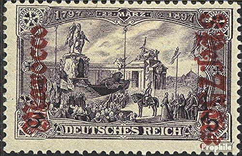 muchas sorpresas Prophila Collection alemán. Correos Marruecos 32B 1905 Germania-sobretasa (sellos para para para los coleccionistas)  entrega gratis