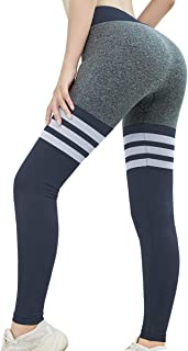 May Lucky Seamless Gym Workout Leggings Women High Waist Vital Yoga Pants Tummy Control Sport Tights
