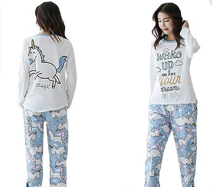 6e897e3f46 Big Girls Teen Girls Cartoon Cat Bear Panda Unicorn Print Cotton Long