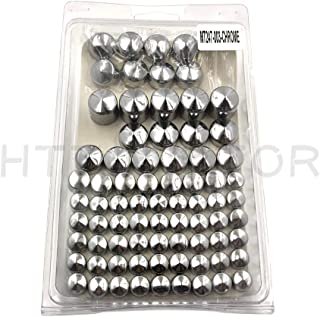 HTT- Chrome Bolts Toppers Caps For 1991-2012 Harley Davidson Dyna Glide Twin Cam