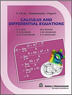 CALCULUS AND DIFFERENTIAL EQUATIONS
