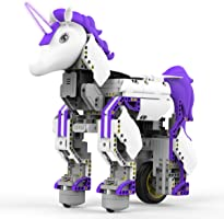 UBTECH JRA0201 JIMU Robot Mythical Series: Unicornbot Kit-App-Enabled Building and Coding Stem Learning Kit, 440 Piece, Purple