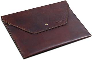 ROYALZ Vintage Custodia in Pelle per Apple MacBook Air M1 / MacBook PRO M1 Copertura di Protezione Universale Manica Desig...