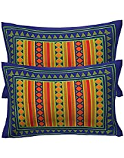 RajasthaniKart Cotton Pillow Cover (Set of 2)