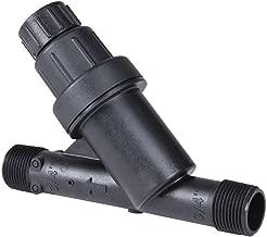 DIG D54 D 54 Drip Irrigation Pressure Regulator & Filter, Black