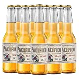 Cerveza Clara Pacifico Suave, 24 botellas de 355 ml c/u