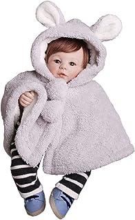 giminuoベビーマント ポンチョ 子供 可愛い 防寒 フード付き 着ぐるみ カワイイ 耳付き 出産祝い お誕生日 プレゼント