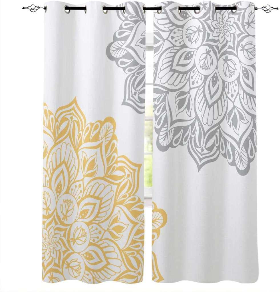 LOVE HOME DAY Mail order cheap Window Curtains Panels Treatments Set 2 Abstract Long-awaited