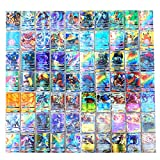Dorara 300 Pièces Pokemon Cartes (195GX+80EX+25MEGA), Pokemon GX EX Mega Flash Cartes, Cartes à...