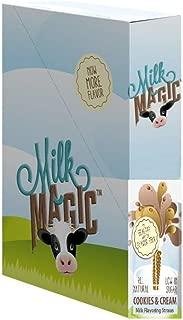 Milk Magic Milk Flavoring Magic Straws Assorted Flavors (Cookies-n-Cream, 56 Count)