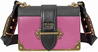 Women's Cahier Leather Bag Pink