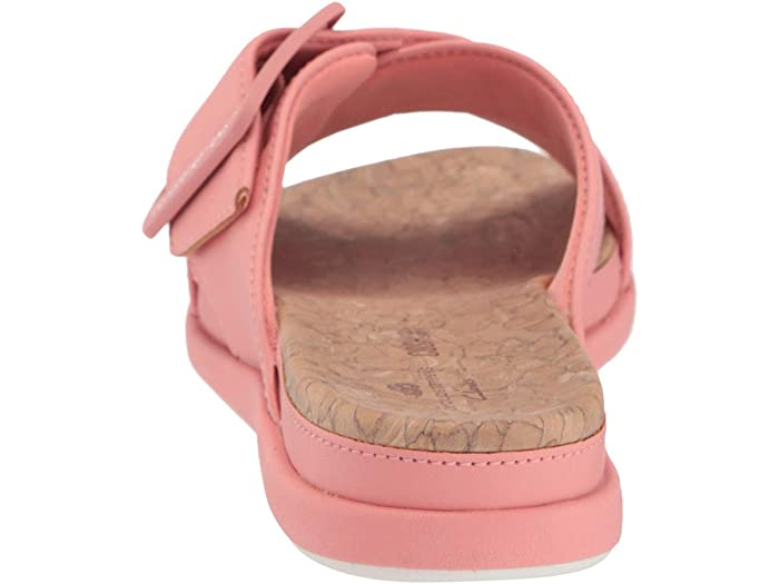 Clarks Paso June Shell Coral Synthetic Sandals