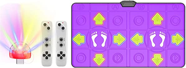 Afslankende Mannelijke En Vrouwelijke Dansmat Draadloze Dubbele Rennende Game, Dansende Stap Pad (Color : B)