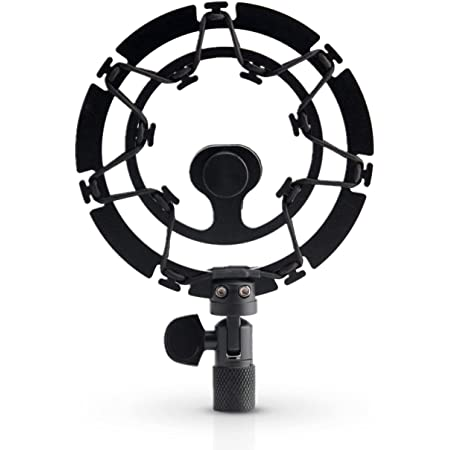 AUPHONIX PRO Shock Mount compatible with Blue Yeti, Pro, Snowball Microphones