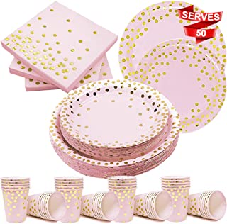 Best gold and pink napkins Reviews