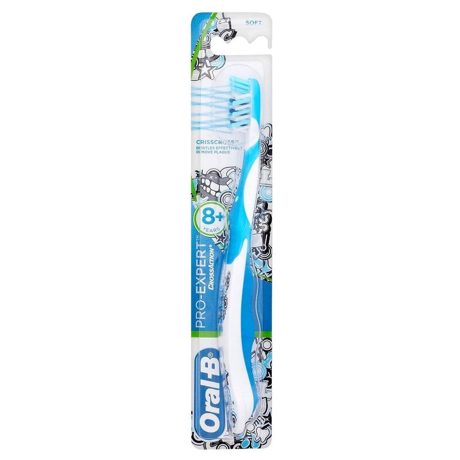 ご注意とは異なり正義Oral-B Toothbrush Pro-Expert Soft Bristles 8yr + オーラルb歯ブラシプロ専門ソフト剛毛??8Yr + [並行輸入品]