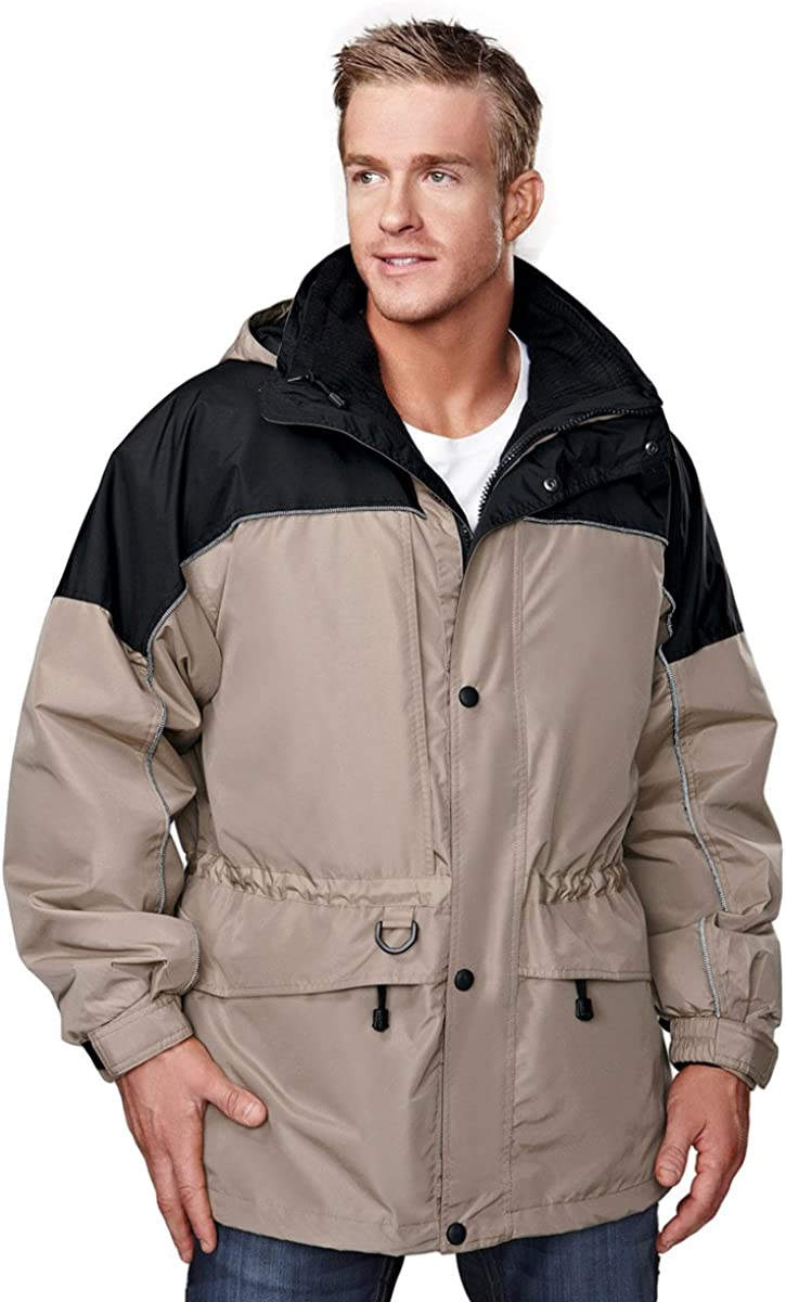 Tri-Mountain 3-in-1 System Coat w/Optional Zip-Out Hood. 9100 Colorado