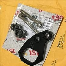 LSL Ignition Key Relocation Lock Mount switch for Triumph Bonneville/Thruxton Scrambler T100 Sivler