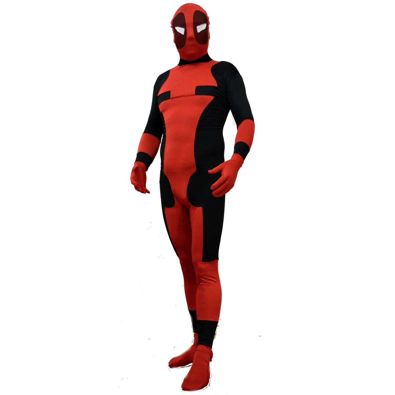 Disfraz de Deadpool para adultos, talla M: Amazon.es: Deportes y ...