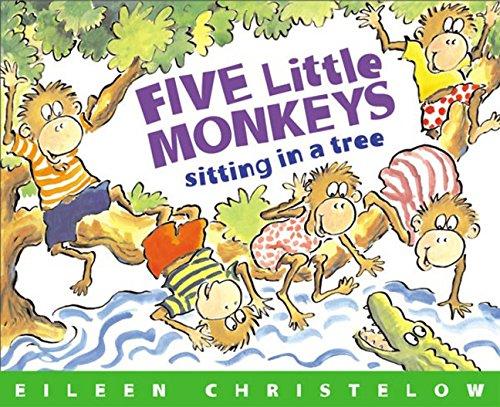 Five Little Monkeys Sitting in a Tree Book & CD (A Five Little Monkeys Story)の詳細を見る
