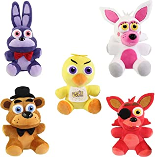 Funko Five Nights at Freddy's Series 1 Plush Collection, 6-inch (Set of 5)