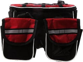 DURAGADGET Bolsa Acolchada Profesional Negra con Compartimentos e Interior en Rojo para Philips OneBlade QP2520//30 Remington HC5035 ColourCut