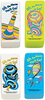 Raymond Geddes Dr. Seuss Oh The Places Beveled Eraser, 48 Pack (68300)