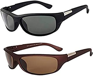 Y&S Wrap Around Sunglasses Combo For Men and Boys Latest Goggles Cooling in Style