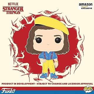 Funko Pop. TV: Cosas extrañas - Eleven, traje amarillo, exclusivo de Amazon