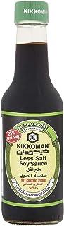 Kikkoman Less Salt Soy Sauce, 250 ml