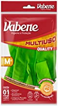Luva Multiuso Limp.Moderada Quality Verde Tam.M, Vabene