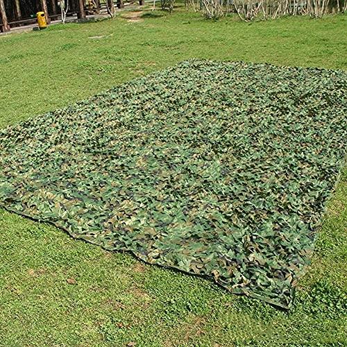 KEANCH Red de Camuflaje de Oxford, Camo Netting Shading Net Woodland Hidden Net, Camo Netting, Adecuado para Eventos Al Aire Libre Restaurant Cafe(Size:4x5M)