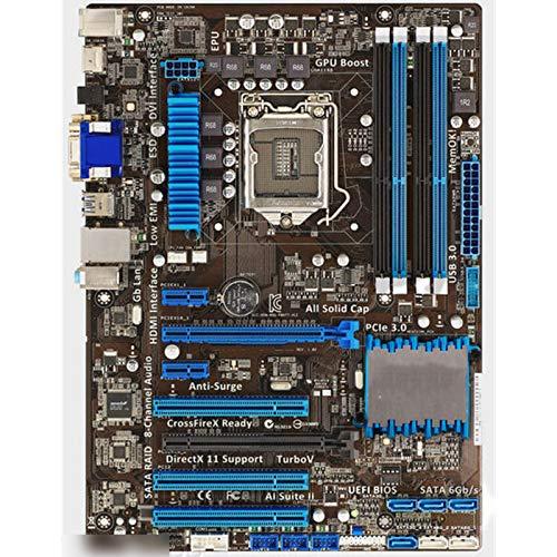 Diecast master Placa base de escritorio utilizada, Asus P8H77-V LE Desktop Motherboard H77 LGA 1155 22nm i3 i5 i7 DDR3 32G SATA3 USB3.0 ATX Desktop Motherboard