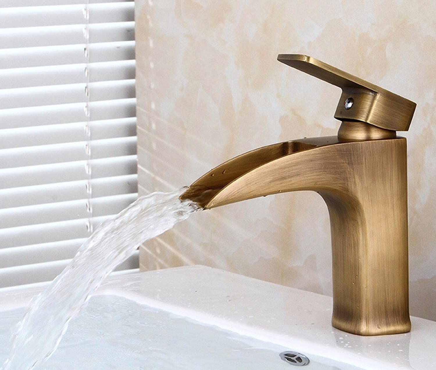 AWXJX copper Hot and cold Wash your face bathroom bathroom Sink faucet