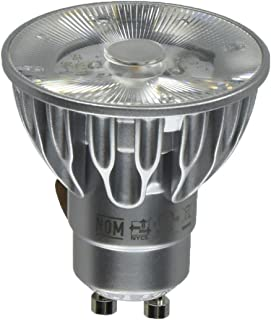 Bulbrite SM16GA-07-10D-827-03 SORAA 7.5W LED MR16 2700K Premium 10° 120V GU10 DIM, Silver
