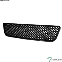 Topline Autopart Matte Black Mesh Front Lower Bumper Grill Grille ABS For 06-13 Chevy Impala / 14-16 Impala Limited / 06-07 Monte Carlo