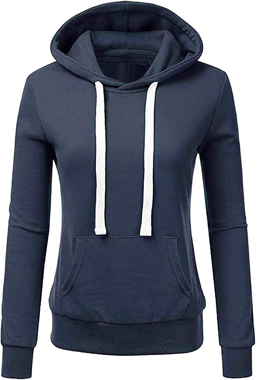LEIYAN Womens Ultra Soft Fleece Hoodies Long Sleeve Lightweight Casual Comfortable Active Sweatshirts Tunic Pullover