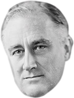 Franklin D. Roosevelt Celebrity Mask, Card Face and Fancy Dress Mask