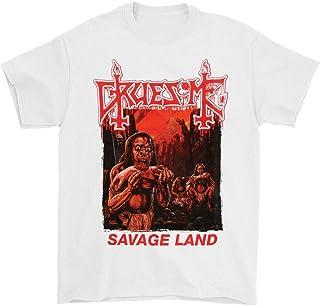 Gruesome Savage Land (White) Tシャツ